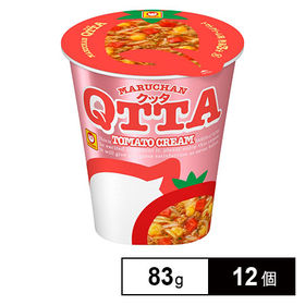 マルちゃんQTTA トマトクリームラーメン 83g×12個