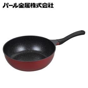 [いため鍋28cm]パール金属/T.軽いね マーブルダイヤモ...