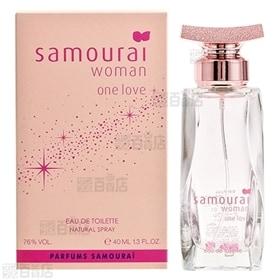サムライウーマン ワンラブ オードトワレ 40mL | キュートでロマンティックなフレッシュ フルーティーノートの香り