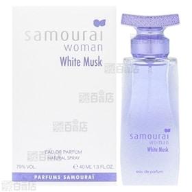 サムライウーマン ホワイトムスク オードパルファム 40mL | ホワイトムスクの優しく気品のある香り