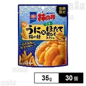 亀田 柿の種うに味×ほたて貝ひも 35g