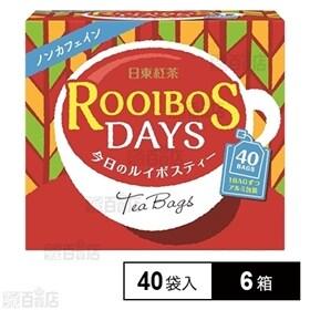 日東紅茶 ルイボスTB40袋入り 60g×6箱