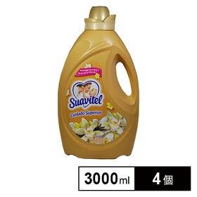 【4個×3L】スアビテル 柔軟仕上剤 バニラ