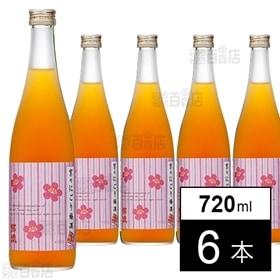 【6本】招德酒造 京のにごり梅酒 720ml
