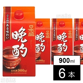 【6本】日本盛 晩酌900ml