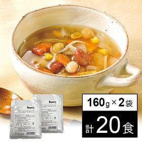 お豆と野菜のごろっとおかず生姜スープ