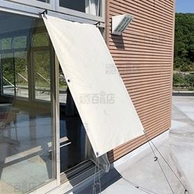 [リーフ/180×200] 日射熱&紫外線をカット! 撥水 遮熱シェード ※日本製