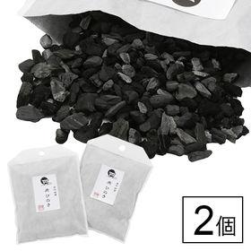 古代出雲 炭ひのき 大2個セット/sumi-01
