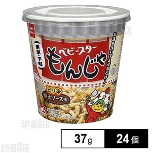 おやつカンパニー ベビースターもんじゃピリ辛明太ソース味37...