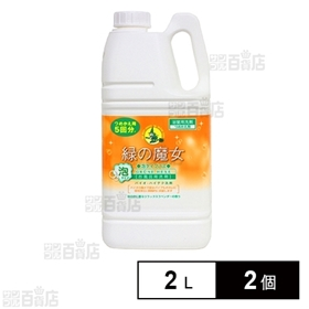 緑の魔女 泡タイプバス(お風呂用洗剤) つめかえ 2L