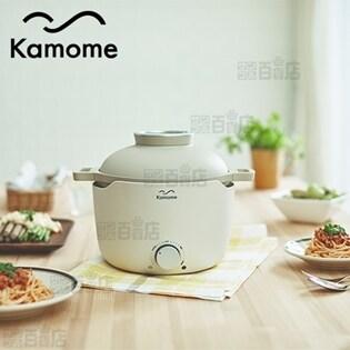 [アイボリー] Kamome/グリルパン (レシピブック付)...