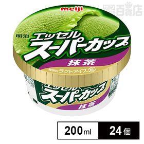 【24個】明治 エッセルスーパーカップ 抹茶