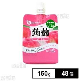 毎日ゼリー 蒟蒻 ピーチ味 150g