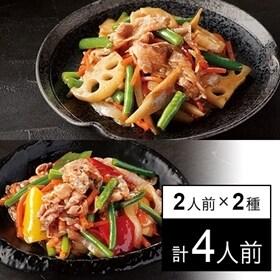 【冷凍】ミールキット 2人前×2種(牛肉と彩野菜のコチュジャ...