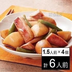 【冷凍】ミールキット 1.5人前×4個 イカと里芋の煮付け ...
