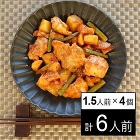 【冷凍】ミールキット 1.5人前×4個 韓国風甘辛チキン ス...