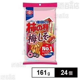 亀田の柿の種 梅しそ 6袋詰 161g