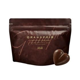 グランポワール 砂糖不使用・糖質カットチョコレート ミルク (カカオ分61%) 12粒入り