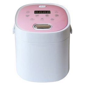 【ピンク】スリム&コンパクト多機能炊飯器 KH-SK200P...