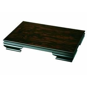 花台 みやび 16号 華台 飾り台 黒檀調 | 空間を彩る天然木製で作られたしっかりとした花台です。