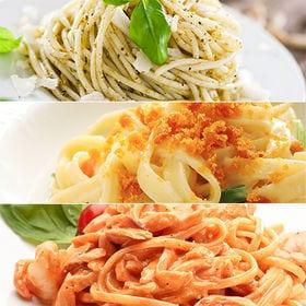 [計600g]生パスタ 3種計6食(スパゲティ、リングイネ、...