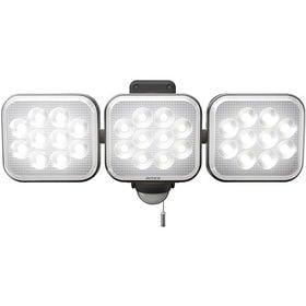 ムサシ フリーアーム式LEDセンサーライト 12W×3灯
