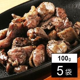 宮崎名物 鶏の炭火焼き もも100g×5袋セット