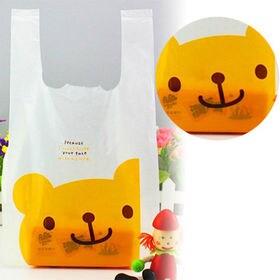 【こぐま】かわいい レジ袋 100枚入り Sサイズ