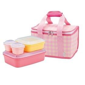 【ピンク】ピクニックランチボックス