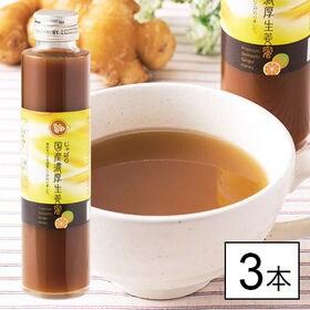 国産濃厚生姜シロップ3本組