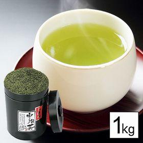 宇治煎茶 1kg | 毎日飲みたいお徳用宇治煎茶。お茶通も好む本場宇治茶の逸品をお徳用サイズでお届け!