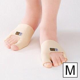 【両足セット組/Mサイズ】日本製笠原式外反母趾・内反小指サポ...