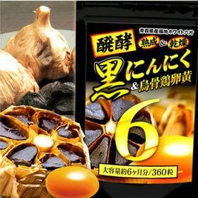 醗酵黒にんにく卵黄BIG6(約6ヵ月分/360粒)