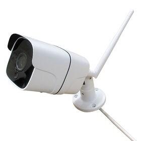 Wi-Fi接続スマホ操作 レコーダー搭載高性能防犯カメラ/高...