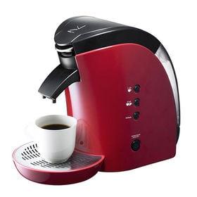 【レッド】蒸らし機能付きコーヒーメーカー