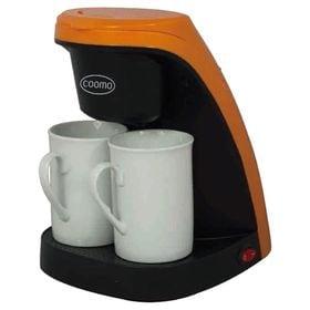 【オレンジ】2カップコーヒーメーカー