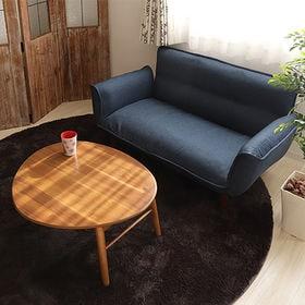 [三角]【ブリッキー】折れ脚テーブル/完成品。アカシア集成材...