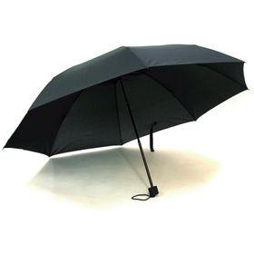 晴雨兼用70cm折り畳み傘 ブラック