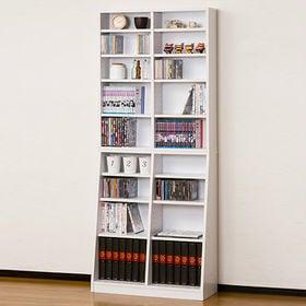 SOHO書棚 W75(ホワイト)