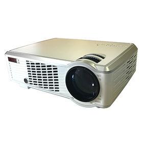 RAMASU/LEDホームプロジェクター(30~120インチ...