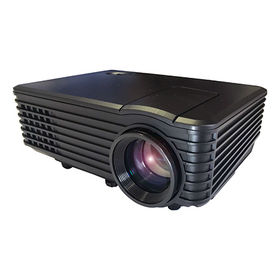RAMASU/LEDホームプロジェクター(40~100インチ...