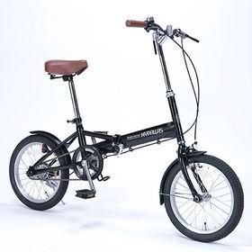 【ブラック】MYPALLAS(マイパラス)/折畳自転車・16...