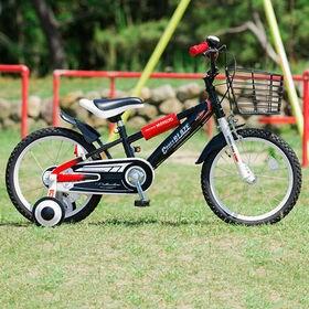 【ブラック・BOY'S】子供用自転車16