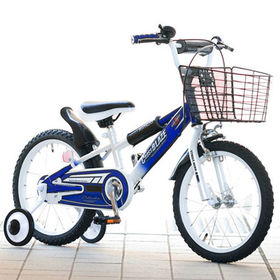 【ブルー・BOY'S】子供用自転車16