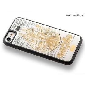 白 iPhone7/8ケース スター・ウォーズ FLASH ...