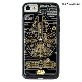 黒 iPhone7/8ケース スター・ウォーズ FLASH ...