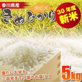 【5kg】30年度 香川県産 きぬひかり5kg