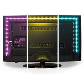 【2m】ルミヌードル TVバックライト(カラー)15色に光り...