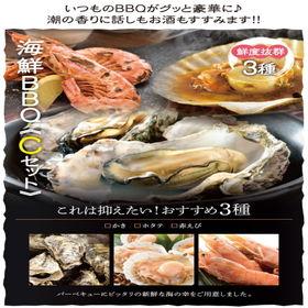 【3種11品2~3人前】海鮮バーベキューCセット押さえておき...
