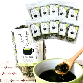 【60g×10袋】 とろりんスープ《昆布と海藻》(約150杯...